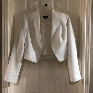 Topshop cropped blazer